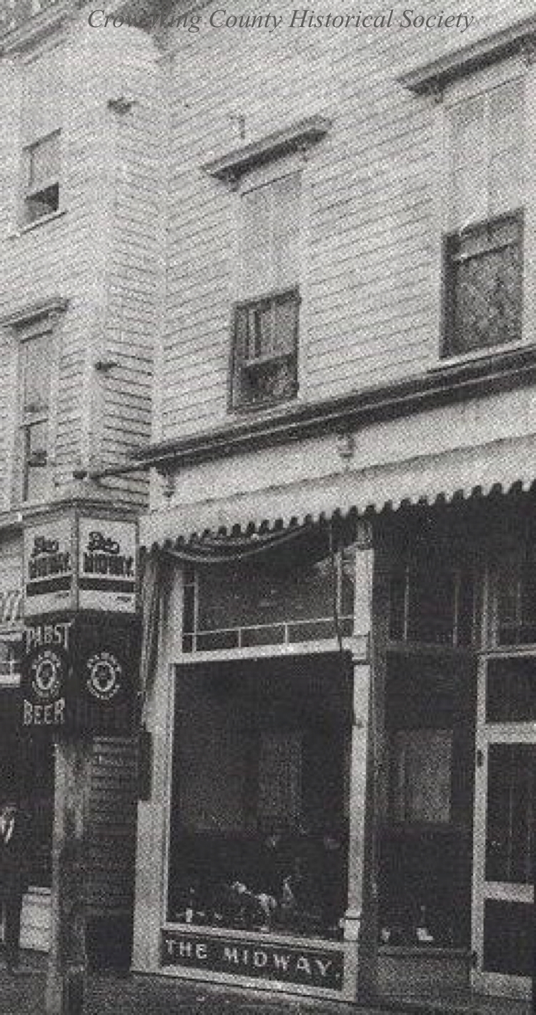 Crow Wing County Historical Society Brainerd Downtown Buildings Inside Flats Jessie Navy 508