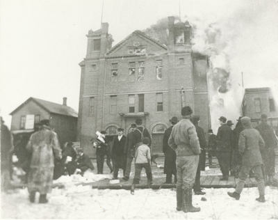 Crow Wing County Historical Society Brainerd City Of Fire