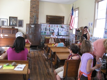 Inside the School House At The Fairgrounds