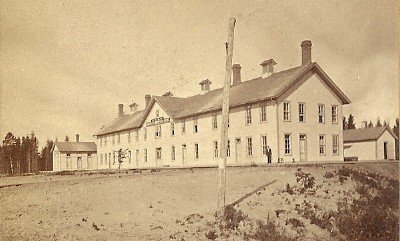 Colonistsu0027 Reception House, Built By The NP To House Newly Arrived  Immigrants On Their Way To Purchase NP Land, Ca. Unknown.