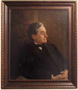 Portrait by Freeman Thorp of Unidentified Man