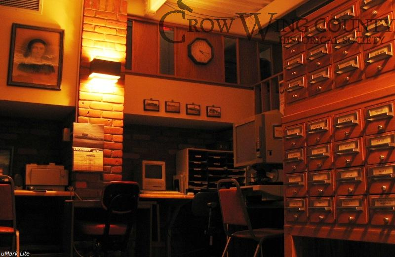 Closing time at the museum's research library;the library is open